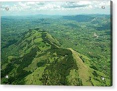 Aerial Landscape In South Western Uganda Acrylic Print
