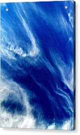 Acrylic Print featuring the photograph Aerial Ocean by Carlee Ojeda