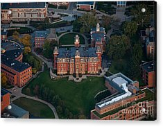 Acrylic Print featuring the photograph Aerial Of Woodburn Hall by Dan Friend