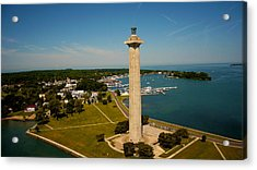 Aerial Perry's Monument  Acrylic Print