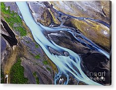 Aerial Photo Of Iceland  Acrylic Print