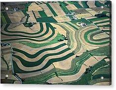 Aerial Tapestry Acrylic Print by Blair Seitz