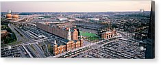 Aerial View Of A Baseball Field Acrylic Print