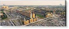 Aerial View Of A Baseball Stadium Acrylic Print