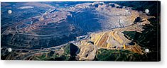 Aerial View Of Copper Mines, Utah, Usa Acrylic Print by Panoramic Images