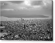 Aerial View Of Guayaquil City Acrylic Print by Sami Sarkis