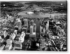 Aerial View Of London 5 Acrylic Print by Mark Rogan