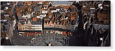 Aerial View Of Marktplatz Acrylic Print by Panoramic Images