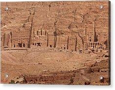 Aerial View Of Royal Tombs At Ancient Acrylic Print