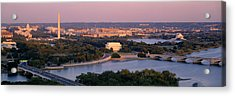 Aerial, Washington Dc, District Of Acrylic Print by Panoramic Images