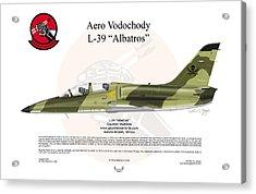 Aero Vodochody Albatros Acrylic Print by Arthur Eggers