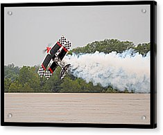 Aerobatic Plane Acrylic Print