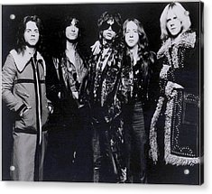 Aerosmith - America's Greatest Rock N Roll Band Acrylic Print by Epic Rights