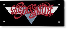 Aerosmith - Dream On Banner 1973 Acrylic Print by Epic Rights