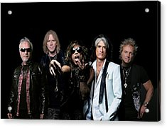 Aerosmith - Global Warming Tour 2012 Acrylic Print by Epic Rights