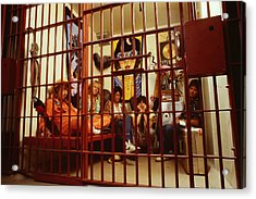 Aerosmith - In A Cage 1980s Acrylic Print by Epic Rights