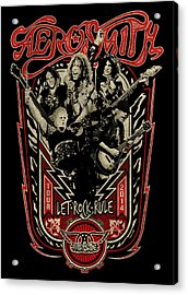 Aerosmith - Let Rock Rule World Tour Acrylic Print by Epic Rights
