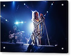 Aerosmith - Pinstripes And Love Bites 1970s Acrylic Print by Epic Rights
