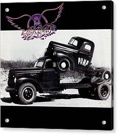Aerosmith - Pump 1989 Acrylic Print by Epic Rights