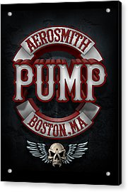 Aerosmith - Pump Acrylic Print by Epic Rights