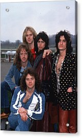 Aerosmith - Terre Haute 1977 Acrylic Print by Epic Rights
