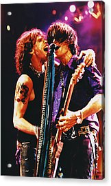 Aerosmith - Toxic Twins Acrylic Print by Epic Rights