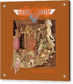 Aerosmith - Toys In The Attic 1975 Acrylic Print by Epic Rights