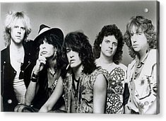 Aerosmith - What It Takes 1980s Acrylic Print by Epic Rights