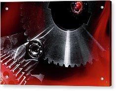 Aerospace Gears Acrylic Print
