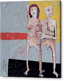 Aetas No 9 Acrylic Print by Mark M  Mellon