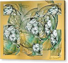 Affirmations Acrylic Print by Leona Arsenault