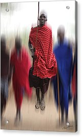 Africa Acrylic Print by Christine Sponchia
