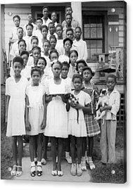 African American Children Acrylic Print