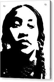 African American Girl P7292045 Acrylic Print