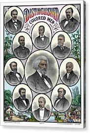 African Americans, C1883 Acrylic Print