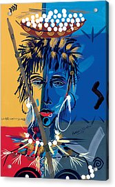 African Beauty 1 Acrylic Print