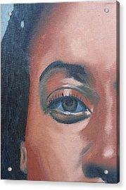 African Beauty Acrylic Print