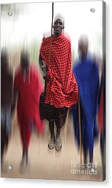 Acrylic Print featuring the photograph African Dance by Christine Sponchia