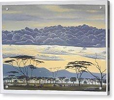 African Magic Acrylic Print