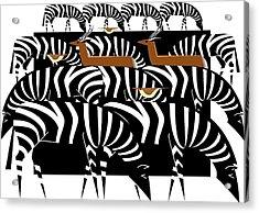 African Plains Acrylic Print