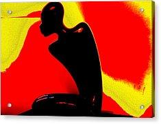 African Pride Acrylic Print by Ricardo Scott