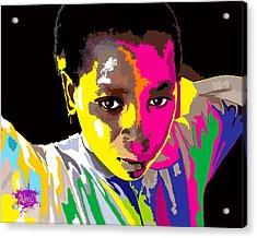 African Rainbow Acrylic Print by Anthony Mwangi