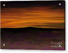 Acrylic Print featuring the painting African Sky by Rand Herron