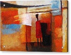 Africana Acrylic Print