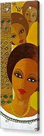 Afro Beauty Acrylic Print