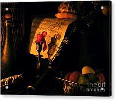 After Glow Acrylic Print by Joe Jake Pratt