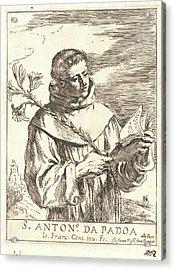 After Guercino Aka Giovanni Francesco Barbieri Italian Acrylic Print by Litz Collection