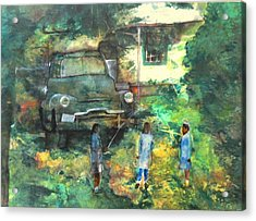 After School Acrylic Print