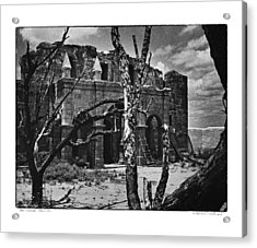 Acrylic Print featuring the photograph After The Battle by Travis Burgess