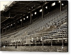 After The Game - Franklin Field Philadelphia Acrylic Print by Bill Cannon